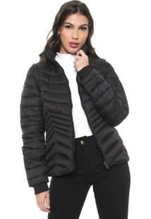 Jaqueta Puffer Facinelli By Mooncity Lisa Preto