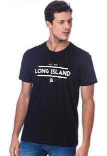 Camiseta Long Island Team Masculina - Masculino