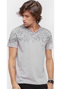 Camiseta Forum Folhagem Masculina - Masculino