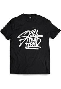 Camiseta Skill Head Script Tag - Masculino