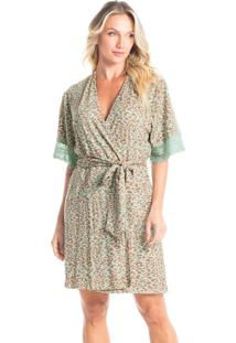 Robe Curto Estampado Catarina