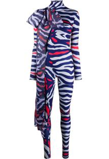 Atu Body Couture Body Animal Print - Cinza