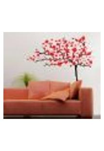 Adesivo De Parede Floral 41 - P 50X56Cm