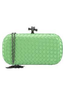 Bauarte - Bolsa Clutch De Tecido Bauarte - Bolsa Clutch De Tecido Verde Claro