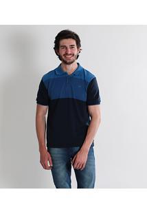 Camisa Polo Listrada Masculina City Gear
