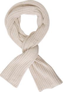 Cachecol Feminino Tricot Soft Kala - Off White