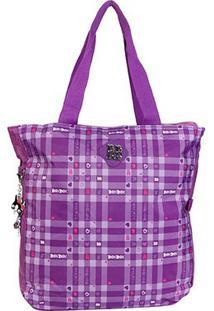Bolsa Clio Tote Bag Rebecca Feminina - Feminino-Roxo