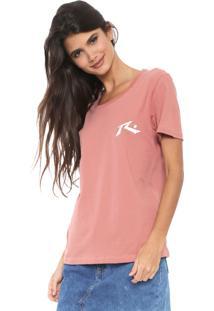 Camiseta Rusty Competition Rosa