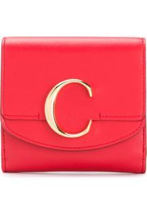 Chloé Carteira C - Vermelho
