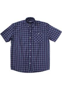 Camisa Wrangler Azul