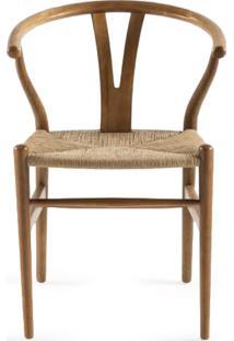 Cadeira Wishbone Fibra Artesian Clássicos De Design By Hans J. Wegner