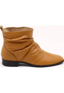 Ankle Boot Couro Anis - 35