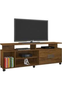 Rack Para Tv C/ 1 Porta E Prateleira Bario Jcm Movelaria -Nobre Soft