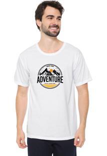 Camiseta Eco Canyon Adventure Hiking Branca