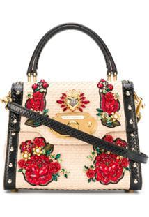 Dolce & Gabbana Bolsa Média 'Welcome' - Neutro