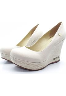Scarpin Barth Shoes Land Jt Nat Lona - Bege - Kanui