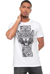 Camiseta Triton Tigre Branca