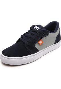 Tênis Dc Shoes Anvil La Azul-Marinho