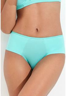 Calcinha Basica Com Lateral Dupla Mondress - Feminino-Verde Água