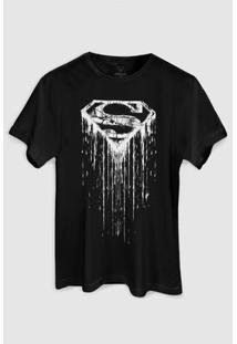 Camiseta Dc Comics Superman Steel Melting Basic Bandup! - Masculino