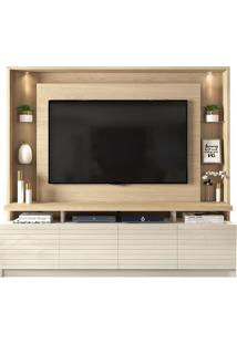 "Estante Home Para Tv Até 60"" Italian Duna/Off White"