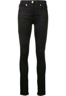 Versace Calça Skinny - Preto