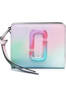 Marc Jacobs Carteira The Snapshot Airbrush 2.0 Mini - Verde