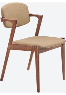 Cadeira Greta Marrom Claro