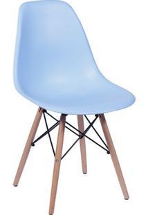Cadeira Eames Dkr- Azul Claro & Bege- 80,5X46,5X42Cmor Design