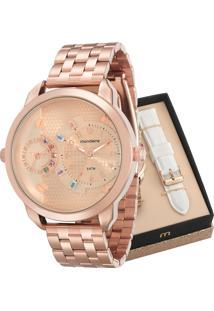 Relógio Mondaine Feminino Troca Pulseiras 76715Lpmvre2