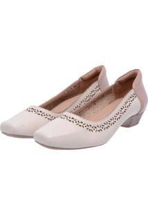 Sapato Miuzzi Comfort Ref 38008 Off White