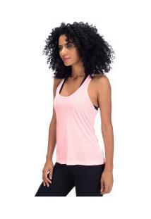 Camiseta Regata Campeão Oxer Jogging New - Feminina - Rosa Claro