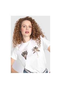 Camiseta Colcci Amor Em Instantes Branca