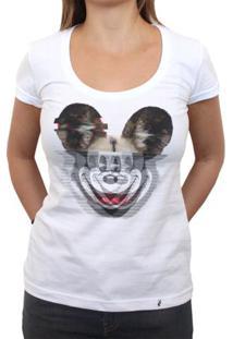 Glitchey - Camiseta Clássica Feminina