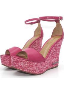 Sandália Barth Shoes Lazuli Pink Napa Feminina - Feminino-Rosa
