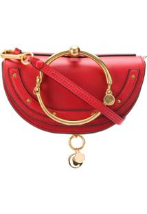 Chloé Nile Minaudière Handbag - Vermelho
