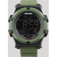 c6357c918b2 Relógio Digital Mormaii Masculino - Mo1192Ad8V Verde - Único