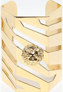 Bracelete Com Vazados - Dourado - 8,5X18Cmversus