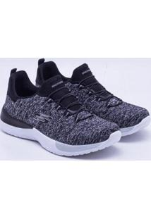 Tênis Skechers Dynamight Breakthrou Feminino - Feminino-Preto