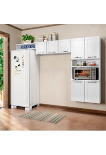Cozinha Compacta Multipla 7 Pt Branco