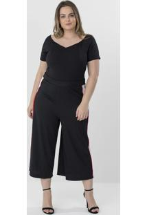 Body Ombro A Ombro Curve & Plus Size