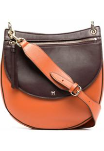 Tila March Bolsa Hobo Annabelle - Marrom