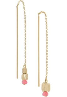 Isabel Marant Chain Drop Earrings - Rosa