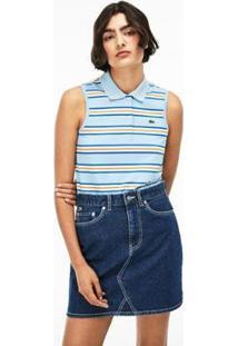Camisa Polo Lacoste Live Slim Fit Feminina - Feminino