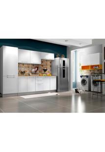Cozinha Completa Play 12 Pt 2 Gv Branca E Amarela