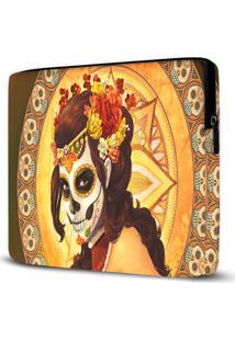 Capa Para Notebook Caveira Mexicana 15 Polegadas
