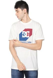 Camiseta Dc Shoes Nosed Up Off-White