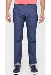 Calça Biotipo Slim Fit Lavada - Masculino
