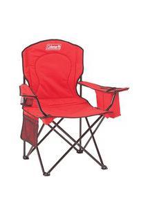 Cadeira Dobrável Com Cooler Vermelha 110120002189 Coleman