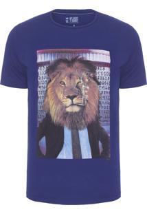 Camiseta Masculina Anti Social Club - Azul